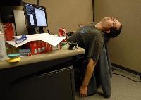 Професійні захворювання офісних працівників